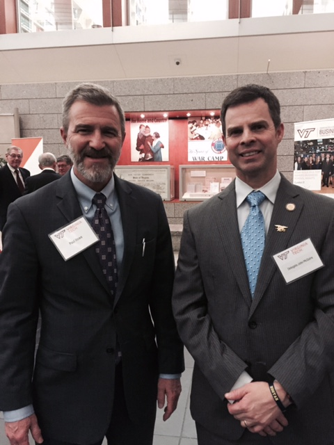 Paul and Delegate McGuire