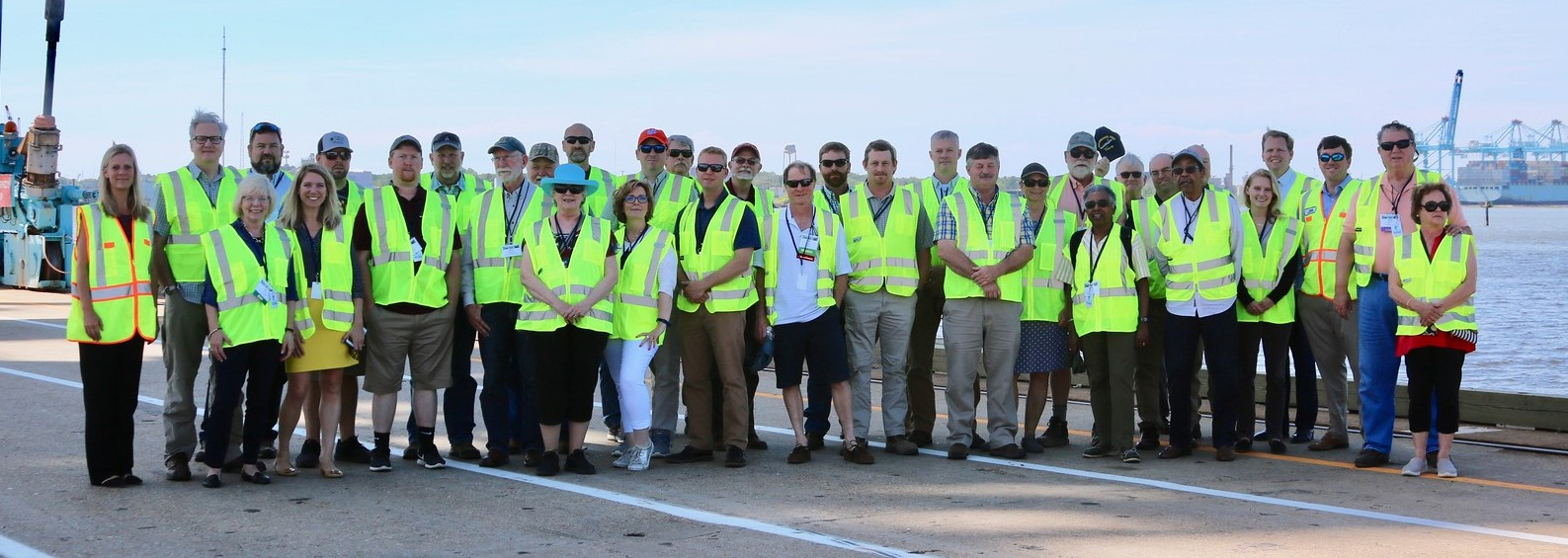 2019 Forestry Summit Norfolk Port Tour